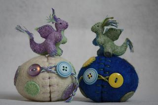 Wool dragons