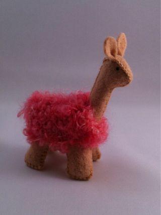 wool llama