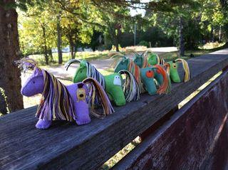 Wool food mama ponies